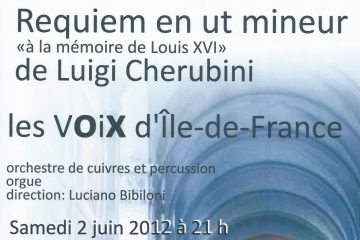 Concert Cherubini 2012 ND Champs
