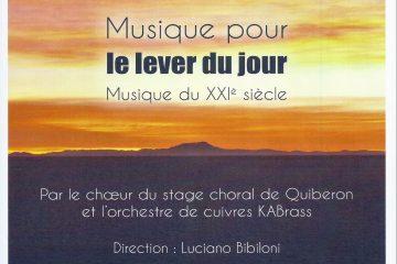 Affiche stage Quiberon
